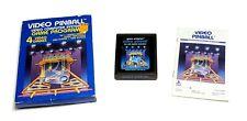 Video Pinball (Atari 2600, 1981) Complete, Tested, CIB
