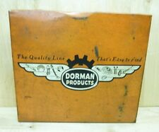 Old DORMAN Products Expansion Plug Display Cabinet Auto Truck Parts Advertising