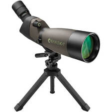 Barska 20-60x 80mm Zoom Spotting Scope Angled with Tripod Carry Case, AD12162
