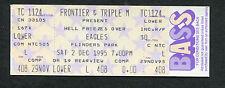 1995 The Eagles Unused Concert Ticket Flinders Park Australia Hell Freezes Over