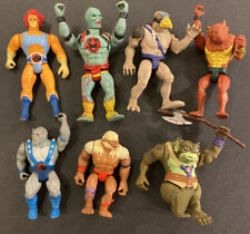 VINTAGE THUNDERCATS ACTION FIGURES LJN 1985 LION-O LOOSE USED SLITHE POLE AXE