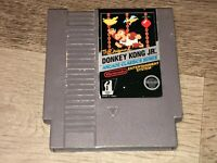 Donkey Kong Jr. Nintendo Nes Cleaned & Tested Authentic