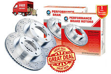 HONDA Integra Type S 2004-07 HEIGHT:47.8 SLOTTED & DRILLED FRONT Disc Rotors (2)