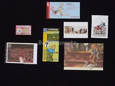 LOT HERGE ESTEVE FORT TINTIN Bar Cartes Hommage (337)