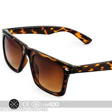 Tortoise Unisex Hipster Active Sports New Designer Square Sunglasses + Case S097