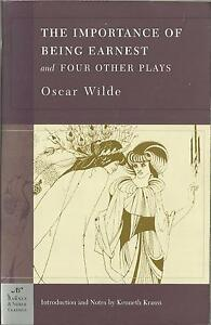 The Importance of Being Earnest and Four Other Plays by Oscar Wilde pb
