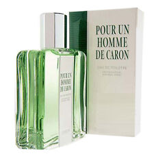 POUR UN HOMME by Caron 4.2 oz EDT eau de toilette Men's Spray Cologne NEW NIB