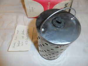 HUMBER SUPER SNIPE 1949-52 SIDE VALVE  BEDFORD 6 CYL NEW OLD STOCK OIL FILTER