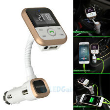 Bluetooth FM Transmitter MP3 Player Wireless Modulator USB SD LCD Car Kit+Remote