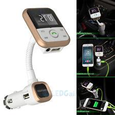Bluetooth Fm Transmitter Mp3 Player Wireless Modulator Usb Sd Lcd Car Kit+Remote