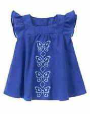 NWT Gymboree BUTTERFLY BATIK Sz 5T Embroidered Butterfly Dress