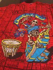 Vintage 1991 Grateful Dead MSG King Kong Red Shirt Men's Size L Garcia Weir Lesh