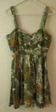 American Rag women's Dress boho hippy green colorful M