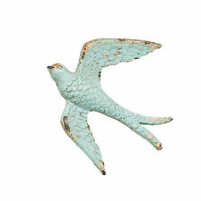 Vintage Blue Swallow Drawer Knob Door Cabinet Handle Pull Antique Bird Cupboard