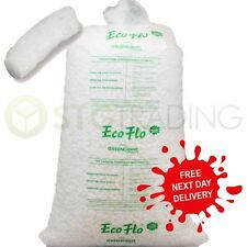 More details for 15 cubic feet of ecoflo loose fill packing peanuts fast