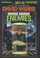 David Weber Honor Among Enemies 2CD MP3 Audio Book Unabridged Honor Harrington 6