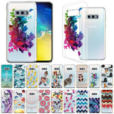 """For Samsung Galaxy S10E G970 5.8"""" Clear Transparent Tpu Silicone Soft Case Cover"""