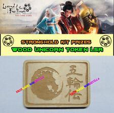 LEGEND OF THE FIVE RINGS LCG - Wood Unicorn Token FFG Promo Stronghold Kit