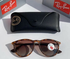 New Ray-Ban Erika RB4171 Classic Matte Tortoise Havana Polarized 54mm Sunglasses