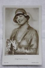 PC Olga Tschechowa Schauspielerin actress Ross Verlag 4033/2 vintage 20/30ies