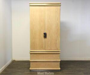 Oak Armoire Dresser by Jay Spectre