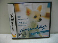 NINTENDO DS NINTENDOGS CHIHUAHUA & FRIENDS GAME COMPLETE