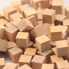 "10Pcs Basswood Carving Wood Block Craft lumber *kiln dried* 2""x2""x2"" Loose TO307"