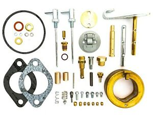 John Deere H Tractor Major DLTX46 Carburetor Repair Kit w/ Float