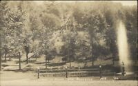 Boonville NY Irwin Park c1910 Real Photo Postcard