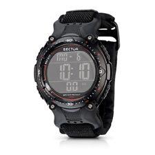 OROLOGIO SECTOR Street uomo R3251172325 watch digitale cronografo dual  Nylon