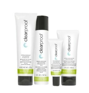 Acne System 4 Piece Set FULL SIZE Mary Kay Clear Proof