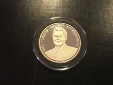 Bill Clinton Silver Round President of the United States .6425 oz
