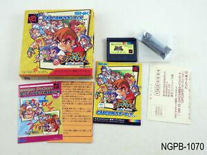 SNK vs Capcom Gekitotsu Card Fighters vCap Neo Geo Pocket Japan Import US Seller
