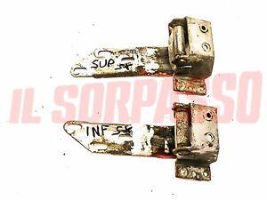 Hinge Left Door Top + Lower Fiat 1200 1500 1600 Osca Spider