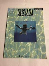 Vtg Nirvana Never Mind 1991 Music Song Book Sheet  Music Rare
