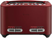Breville the Smart Toast 4 Slice Toaster - Cranberry Red