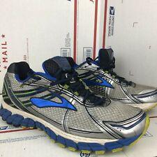 Brooks Mens Adrenaline GTS 15 Blue Running Shoes D168 Size 12