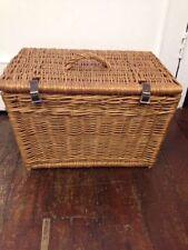 Wicker Rectangular Vintage/Retro Decorative Baskets