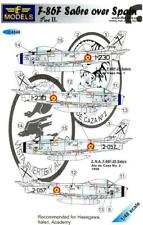 LF Models Decals 1/48 NORTH AMERICAN F-86F SABRE OVER SPAIN Part 2