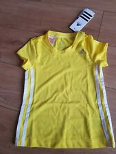 Adidas Kids T-shirt 4-5 years BNWT yellow