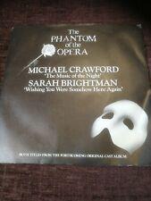 "Michael Crawford: Phantom Of The Opera 7"" Vinyl Single1986"