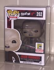 SDCC 2015 Funko Pop FRIDAY THE 13TH JASON VOORHEES Unmasked Vinyl LE 1008 GRAIL!