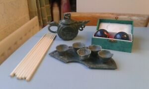 Job Lot Miscellaneous Old Antique Ornaments, Chinese.