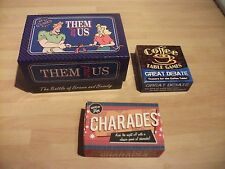 Bundle of 3  Trivia Games for Adults,Small size travel games
