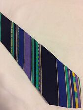 VERSACE V2 cravatta tie original 100% seta made in Italy nuova new
