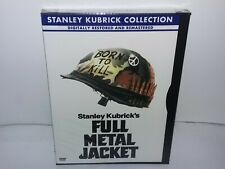 Full Metal Jacket (DVD, Region 1, Canadian, Snapcase, Kubrick Collection) NEW