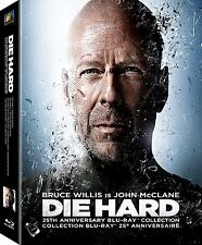 Die Hard: 25th Anniversary Collection [Blu-ray] [5 Discs] ✔NEW✔