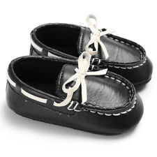 LK _ eg _ Bebé Niño Niña suela blanda piel sintética Cuna Antes De Andar Zapatos