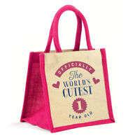 1st First Birthday Girl Gift Bag Party Present Outfit Keepsake Supplies