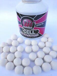 Mainline Cell pop ups White 15mm Carp Fishing Bait Mainline Cell Flavour pop up